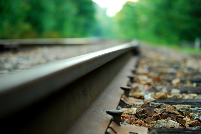 Railroad Tracks - Hooksett, NH